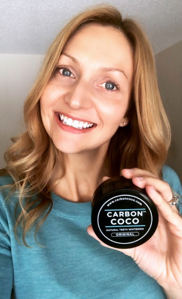 Carbon Coco Natural Teeth Whitening at Home - www.wavesandwillows.com